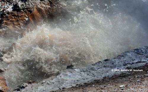 A Yellowstone hot spot
