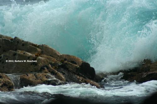 #1 - Waves crashing