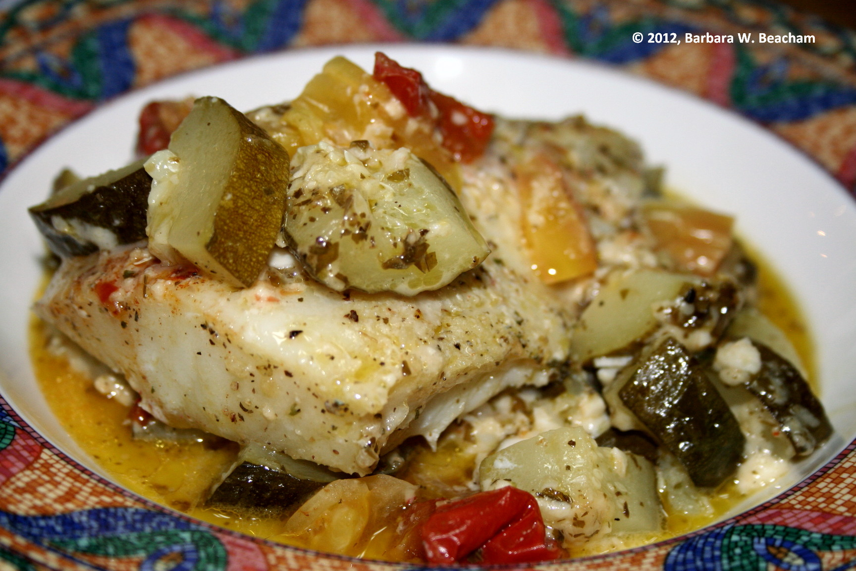 Easy baked cod life in the foothills for Easy fish dinner