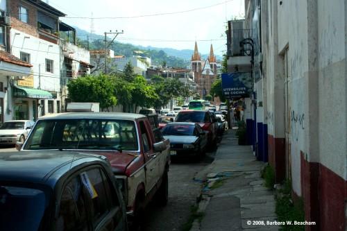 A street in Puerto Vallarta