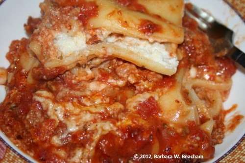 Such a lovely lasagne!