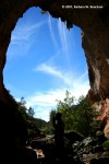 Geometry in a natural arch