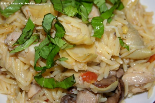 Italian Chicken with Orzo