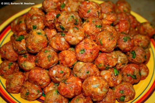 Mama mia, look at those meatballs!