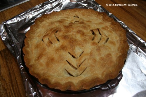 Pie is done!