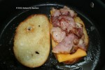 Top with ham