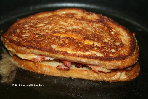 Turn the sandwich