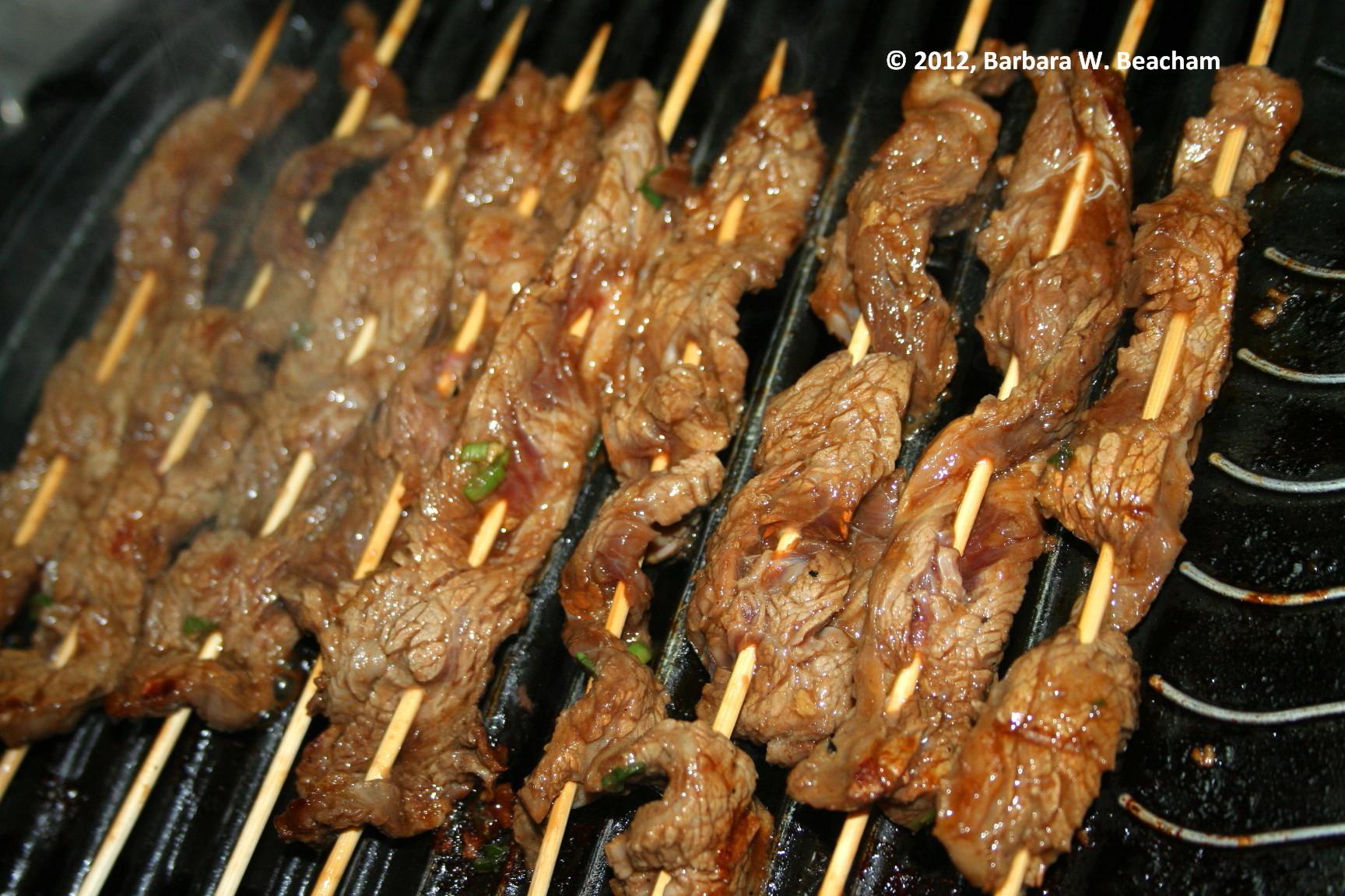 Love – A WordPress Photo Challenge » Asian Beef Skewers