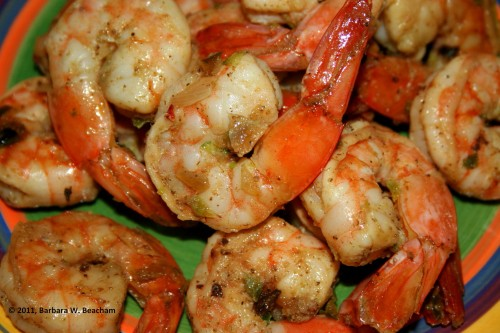 Tequila Lime Prawns
