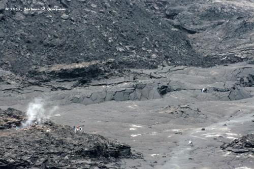 Inside the caldera at Kileaua