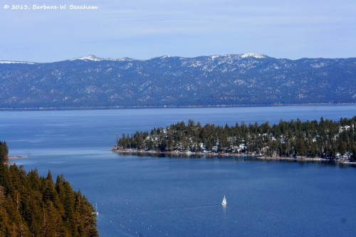 Lake Tahoe and Emerald Bay