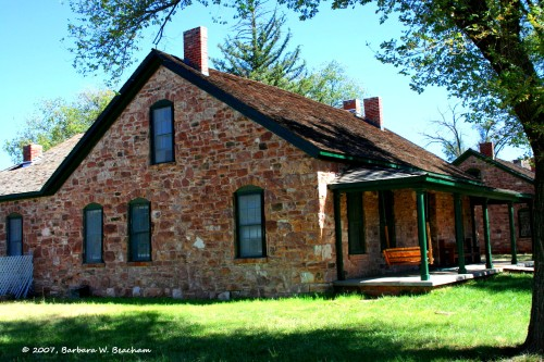 Officers quarters at Fort Apache