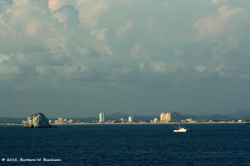 An ocean view of Mazatlan