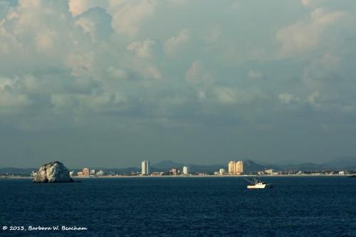 An ocean view of Mazatlan