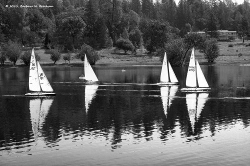 Reflecting boats