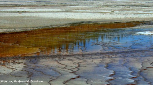 Colorful reflecting textures
