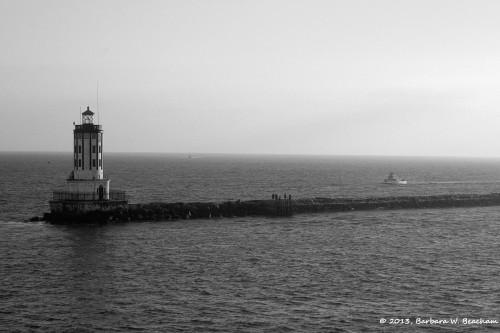 The Long Beach Lighthouse