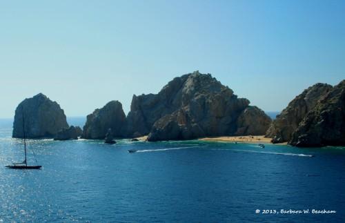 The beach at Cabo San Lucas