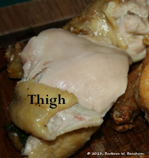 This is the thigh!