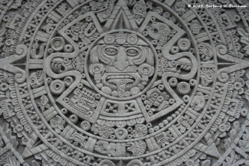 A copy of the Mayan calendar