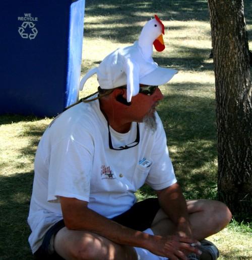 Buy a goofy hat!