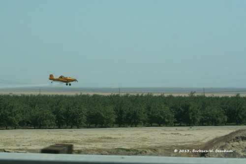 A crop duster