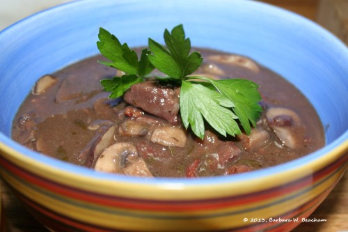 Hearty Cabernet Beef Stew