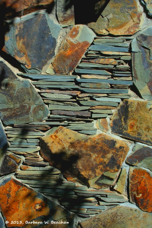 Portrait of a lovely stone wall