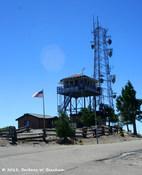 The watch tower at Big Hill