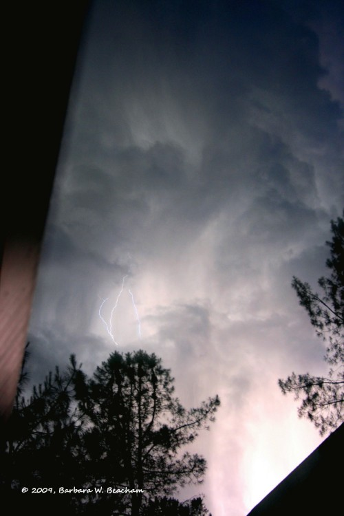 I catch lightning!