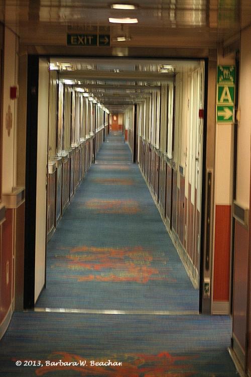 One long hallway