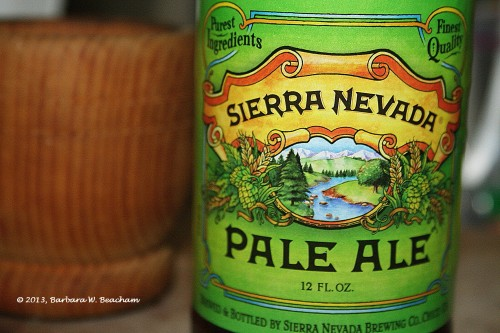 Sierra Nevada Pale Ale for the chili