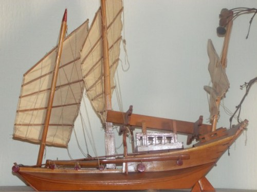 Chinese Junk Model - Copyright Alastair Forbes