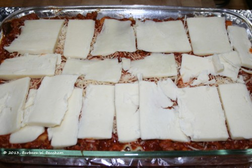 Not a pretty lasagna!
