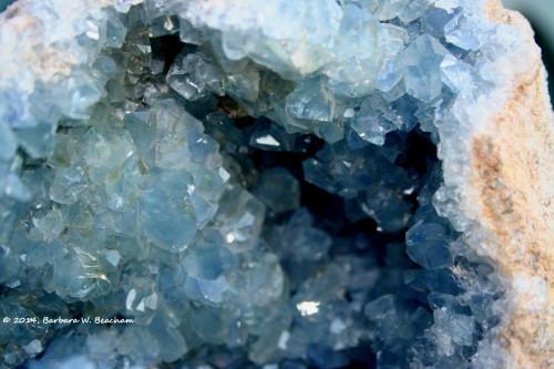A crystal cave