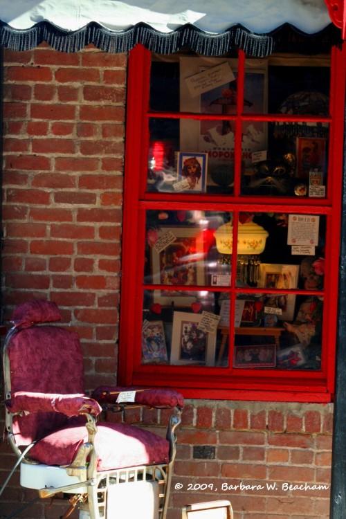 A window in Jerome
