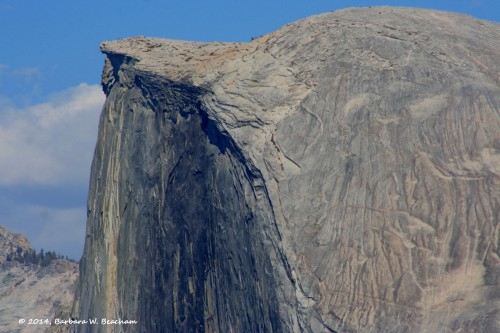 The top of Half Dome!