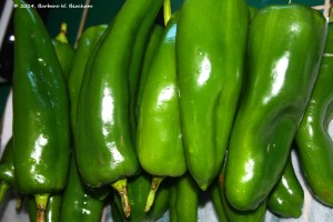 20 Anaheim Green Chiles