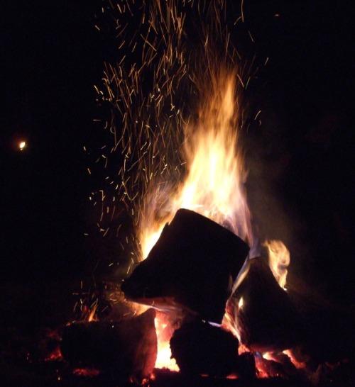 Campfire - Photo by Rochelle Wisoff-Fields