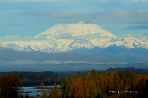 Mt. McKinley early in the morning