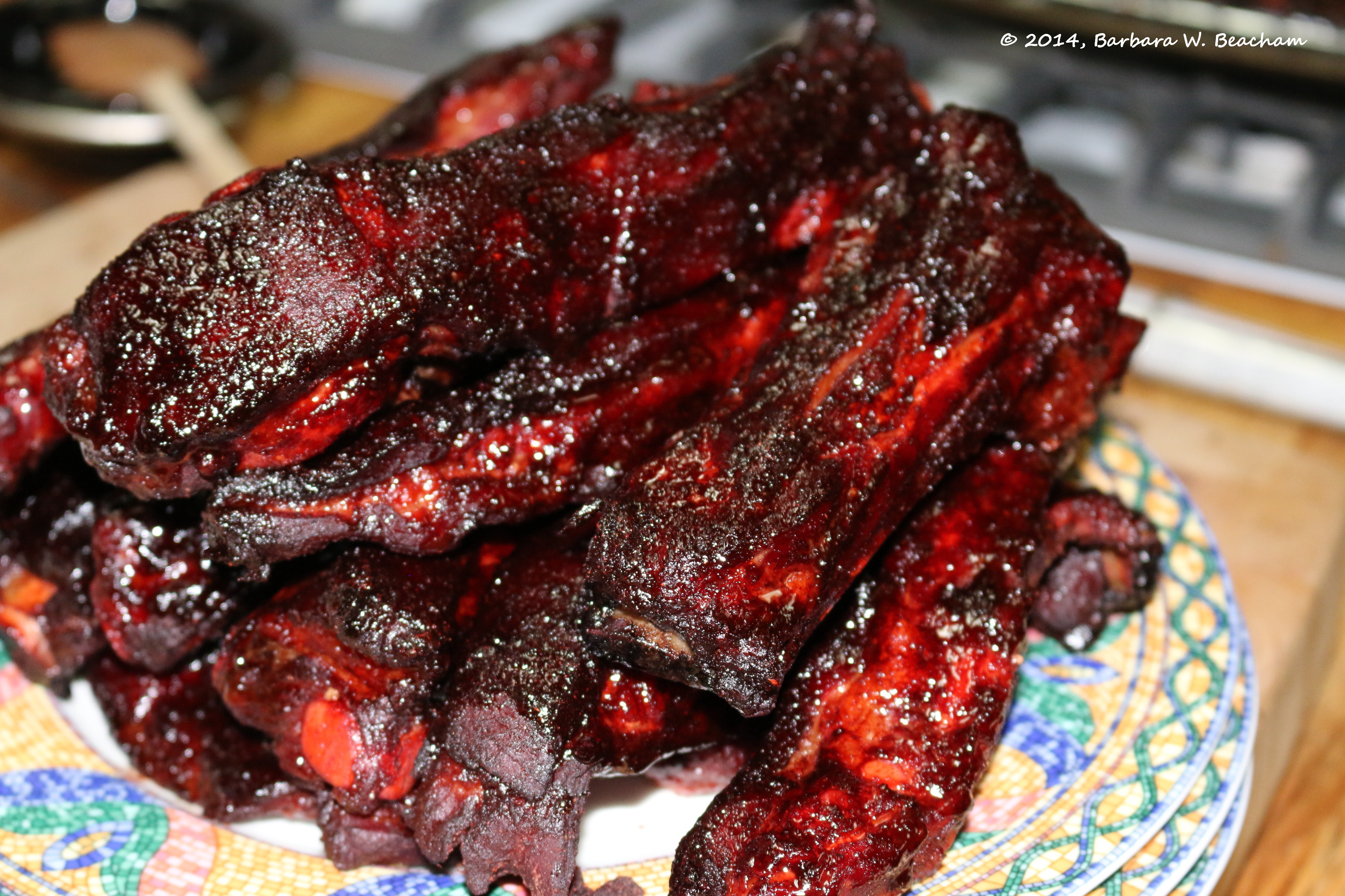 Chinese Char Siu Ribs | Life in the Foothills