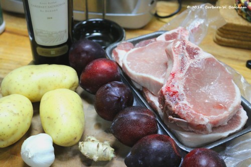 The beginnings of a great meal!