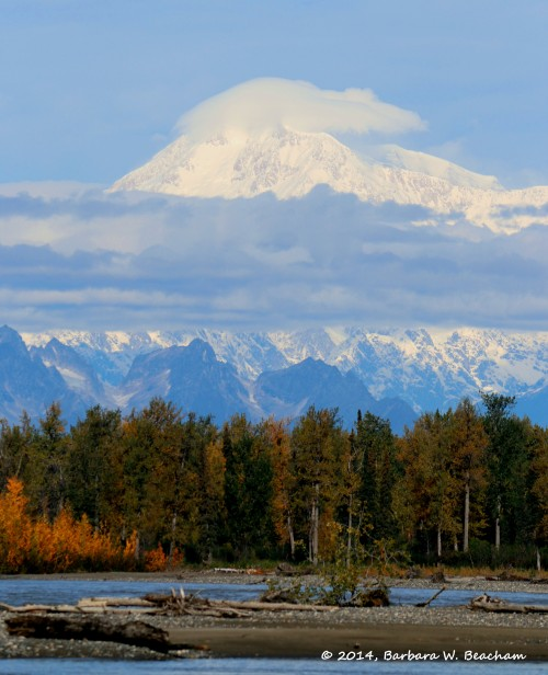 Final shot of the Susitna and Denali