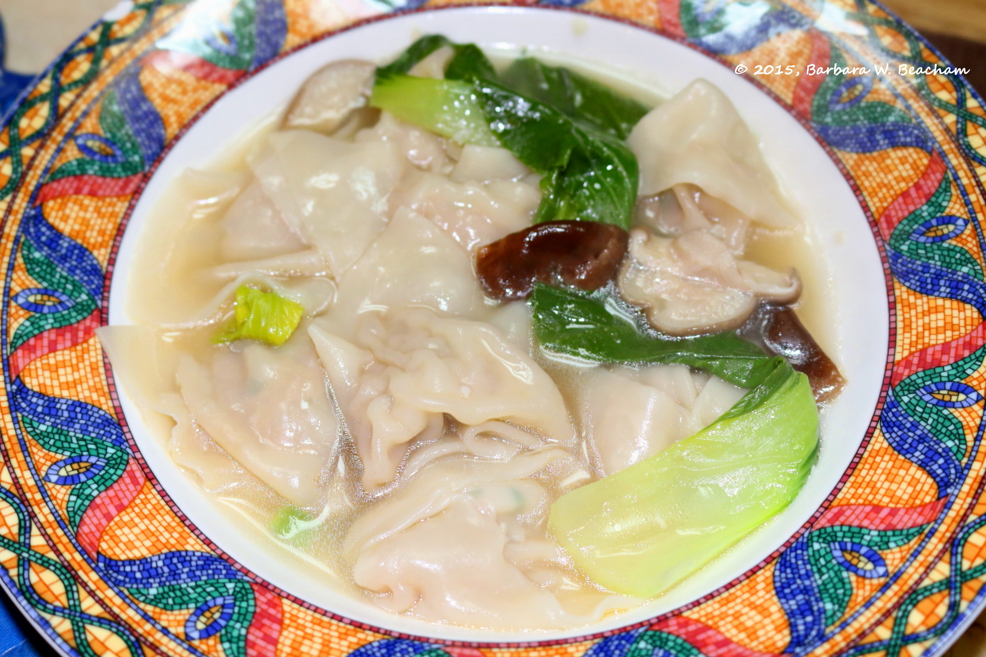 how to make soup out of pork broth