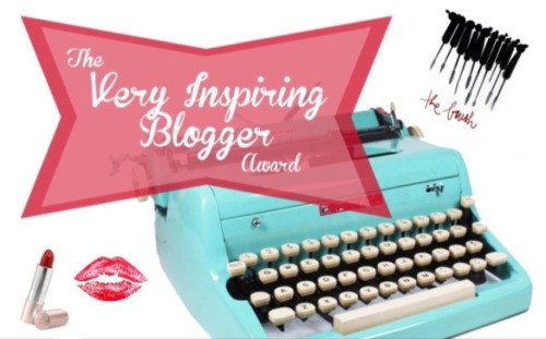 The Very Inspiring Blogger Award!