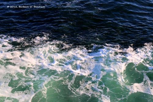 Tri-color ocean