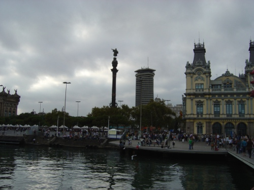 Visiting Barcelona - Photo by Dee Lovering