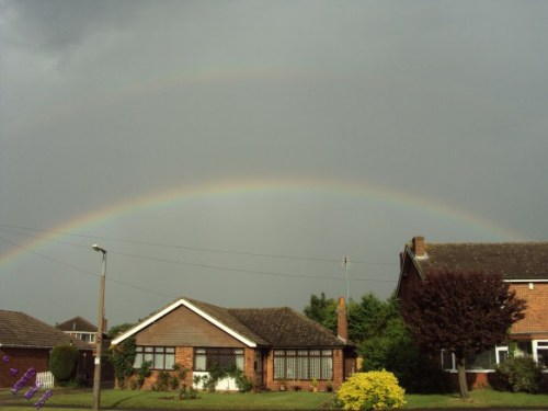Double Rainbow - Photo by Alastair Forbes