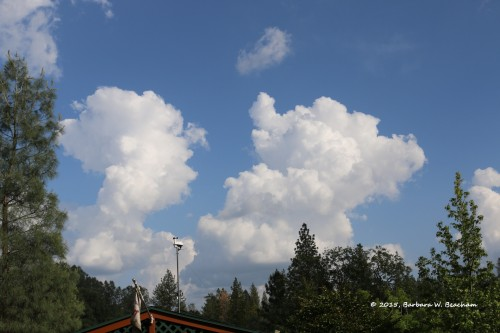 Thunderheads forming