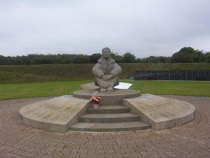 Battle of Britian Memorial Statue - Photo by Detraymond
